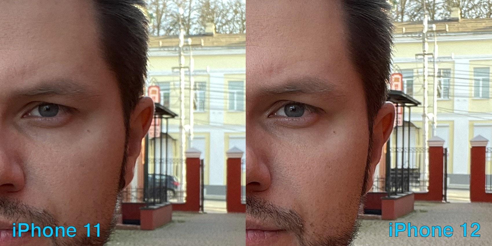 камера айфон 11 и айфон 12